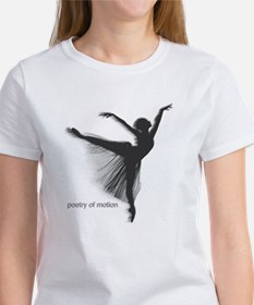 Poetry of Motion Women's T-Shirt