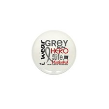 Hero in Life 2 Brain Cancer Mini Button (10 pack)