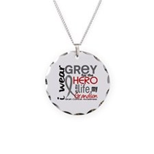 Hero in Life 2 Brain Cancer Necklace