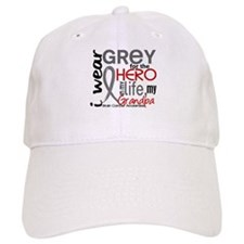 Hero in Life 2 Brain Cancer Baseball Cap