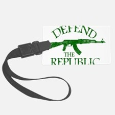 DEFEND THE REPUBLIC (green ink) Luggage Tag