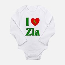 I Love Zia (Italian Aunt) Body Suit