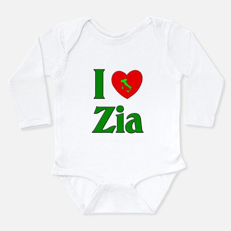 I Love Zia (Italian Aunt) Body Suit