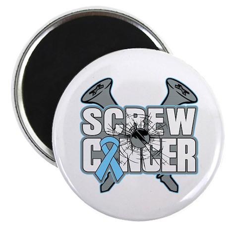 "Screw Prostate Cancer 2.25"" Magnet (10 pack)"
