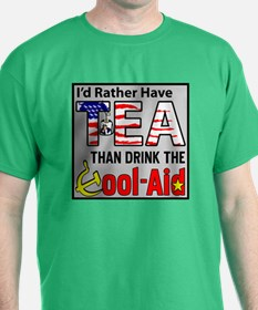 """I'd Rather Have Tea!"" T-Shirt"