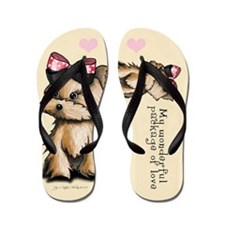 Package of love Flip Flops