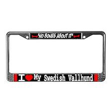 NB_Swedish Vallhund License Plate Frame