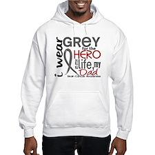 Hero in Life 2 Brain Cancer Hoodie