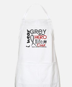 Hero in Life 2 Brain Cancer Apron