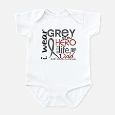 Hero in Life 2 Brain Cancer Infant Bodysuit