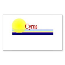 Cyrus Rectangle Decal