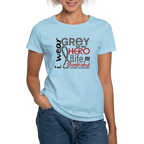 Hero in Life 2 Brain Cancer Women's Light T-Shirt
