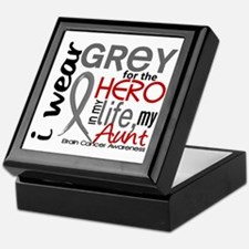 Hero in Life 2 Brain Cancer Keepsake Box