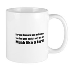 Obama Fart Mug