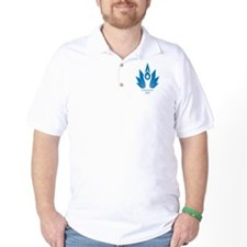 Funny Blue flame T-Shirt