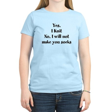 Yes, I Knit T-Shirt