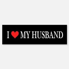 I Heart My Husband Stickers