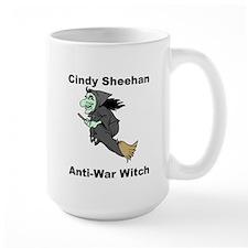 Cindy Sheehan Anti-war Witch Mug