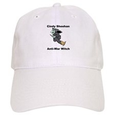 Cindy Sheehan Anti-war Witch Baseball Cap