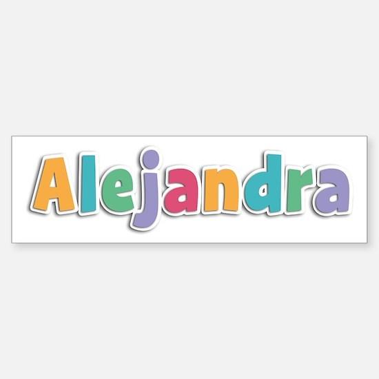 Alejandra Spring11 Bumper Bumper Bumper Sticker
