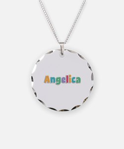 Angelica Spring11 Necklace Circle Charm