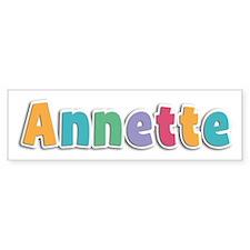 Annette Spring11 Bumper Bumper Sticker