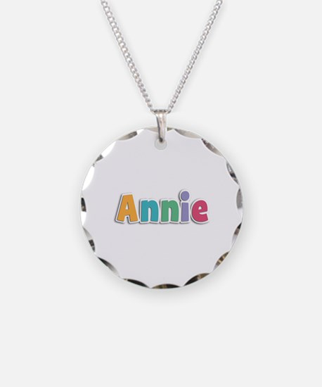 Annie Spring11 Necklace Circle Charm
