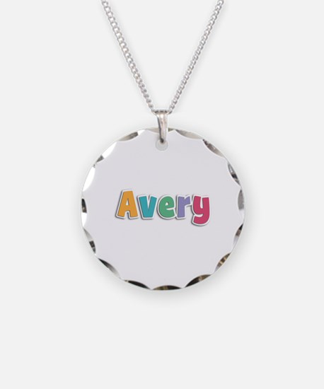 Avery Spring11 Necklace Circle Charm