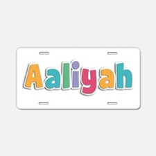Aaliyah Spring11 Aluminum License Plate