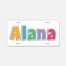 Alana Spring11 Aluminum License Plate
