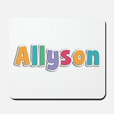 Allyson Spring11 Mousepad