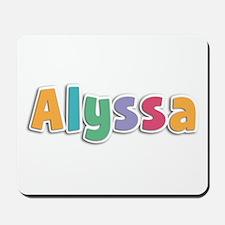Alyssa Spring11 Mousepad