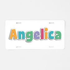 Angelica Spring11 Aluminum License Plate