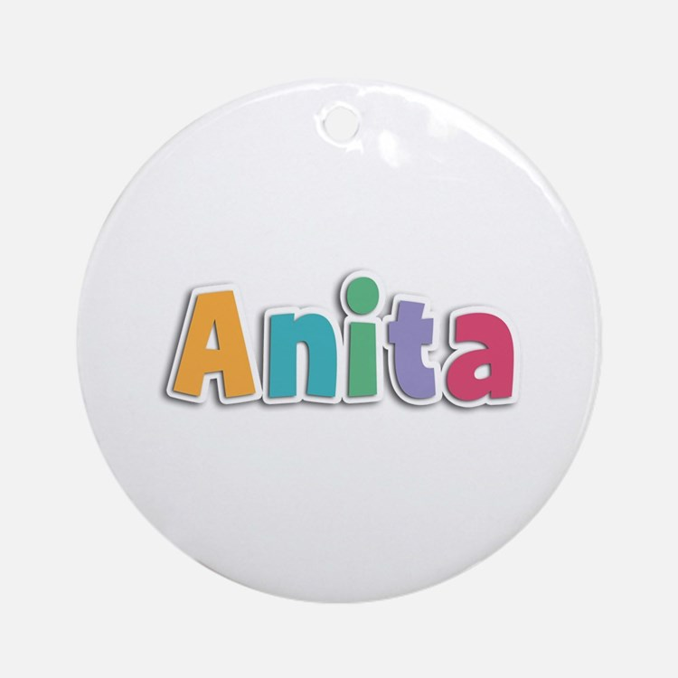 Anita Spring11 Round Ornament