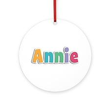 Annie Spring11 Round Ornament