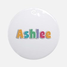 Ashlee Spring11 Round Ornament