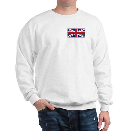"""British Flag"" Sweatshirt"