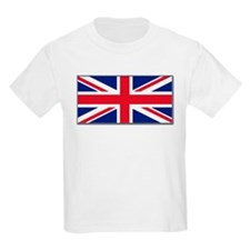 """British Flag"" Kids T-Shirt"