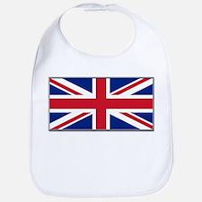 """""""British Flag"""" Bib"""