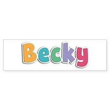 Becky Spring11 Bumper Bumper Sticker