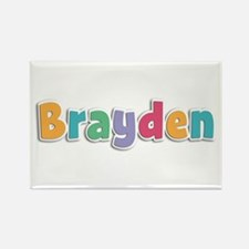 Brayden Spring11 Rectangle Magnet