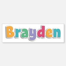 Brayden Spring11 Bumper Bumper Bumper Sticker