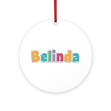 Belinda Spring11 Round Ornament