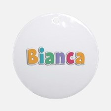 Bianca Spring11 Round Ornament