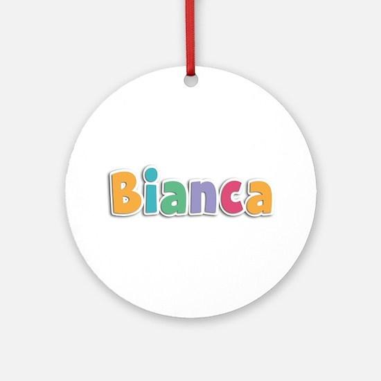 Bianca Spring11 Round Ornament