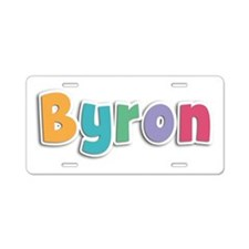 Byron Spring11 Aluminum License Plate