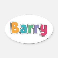 Barry Spring11 Oval Car Magnet