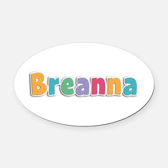 Breanna Spring11 Oval Car Magnet
