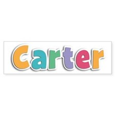Carter Spring11 Bumper Car Sticker