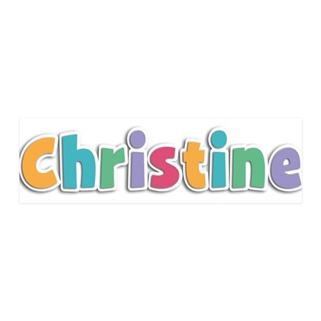 Christine Spring11 42x14 Wall Peel